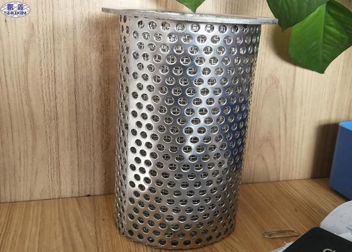 304 Stainless Steel Perforated Filter Tube