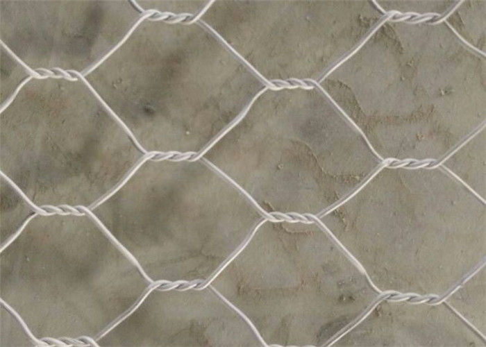 Tender Project Hexagonal Woven Gabion Mesh Box Wall for Reservoir Closure