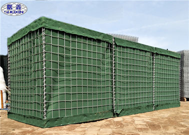 HDP Galvanized Anti Blast Barriers For Military Dan Army Protection